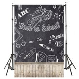 3x5FT Back To School Chalkboard Photography Backdrop Studio Prop Background