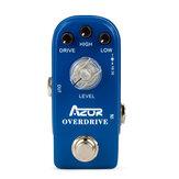 AZOR AP-308 Overdrive Mini-Gitarreneffektpedal Mini-Pedaleffektzubehör Overdrive-Gitarrenpedalteile Zubehör