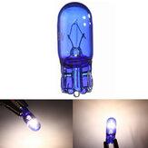 10 sztuk W5W / T10 5W Super Bright White Light Xenon Sidelight Bulbs Width Lamp 12V