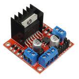 Geekcreit® L298N Dual H Puente Paso a Paso Tablero de Controlador del Motor para Arduino