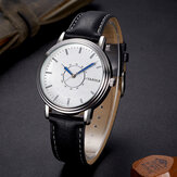YAZOLE 305 Leisure Style Leather Band Quartz Watch