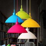 E27/E26 Hanger Lamphouder Kleurrijke Siliconen Vouw Lampscherm Plafond Lichtstekker AC 110-240V
