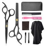 6-calowy zestaw nożyczek fryzjerskich Nożyczki Płaskie nożyce Zestaw nożyczek do zębów Grzywka Zestaw nożyczek