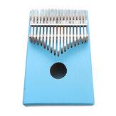17 teclas C-Tune Thumb Piano Kalimba Portable Piano Solid Wood Dedo