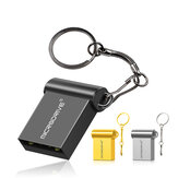MicroDrive 64GB USB 2.0 Ultra-fast Transmission Mini Metal Waterproof USB Flash Drive Stick Drives U Disk with Metal Key chain
