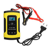 Enusic™ 12V 6A Pulse Repair LCD Battery Charger For Car Motorcycle Lead Acid Battery Agm Gel Wet