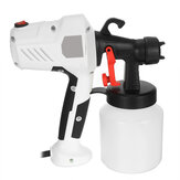 450W 800ML Electric Spray Paint Sprayer Home Car Painting Tool Adjustable Nozzle Random Color