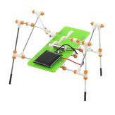 Diy di puzzle giocattoli giocattoli educativi quadrupede robot solare