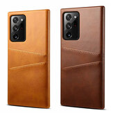 Bakeey Luxury PU Leather with Multi Card Slot Bumpers Etui de protection antichoc anti-rayures pour Samsung Galaxy Note 20 Ultra / Galaxy Note20 Ultra 5G