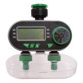 Aqualin два выхода автоматический таймер полива Сад цифровой электронный таймер воды электромагнитный клапан ирригационный контроллер