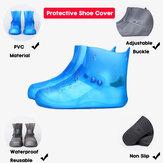 النساء عدم الانزلاق ضد للماء يغطي الحذاء في الهواء الطلق الأعلى القابل لإعادة الاستخدام