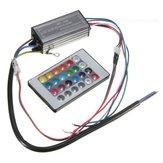 20W RGB LED Chip Licht Lampe Treiber Stromversorgung Wasserdicht IP66 mit Fernbedienung