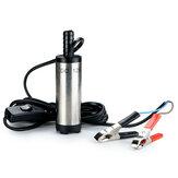 12V Tauch Pumpe 38mm Wasser Diesel Transfer Tankwerkzeug mit Klemme