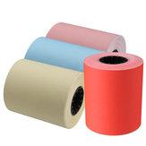 57×50ミリメートルサーマルプリントプリンタ用紙MEMOBIRDフォトプリンタレッド/ピンク/イエロー/ブルー