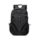 Backpack Laptop Bag Shoulder Bag with USB Charging Men Large Capacity Travel Storage Bag for 14 inch Computer