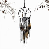 Dream Catcher Handmade Colorful Feather Wall Hanging Decorations Ornament Gift Wind Chimes Dream Catcher Feathers Window Car Hanging Ornament Dream Catcher Decoration