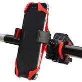 Support de support de support de guidon de moto de 360 degrés Support de silicone pour téléphone