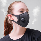 PM2.5大気汚染防止フェイスマスク通気性活性炭口マスクキャンプ旅行サイクリングマスク