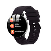 Bakeey LV18 1.3inch Full Touch Screen Blood Oxygen Pressure Heart Rate Monitor Smart Watch