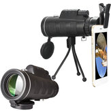 40X60 Outdoor Optical Lens Telescope With Clip For Universal Mobile Phone+Tripod