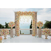 1.2x0.8m Romantic Wedding Photography Backdrop Flowers Wall Party Photo Background Cloth Decoration Props