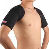 ShuoXin SX641 Desporto Double Shoulder Brace Support Strap Wrap Cinto Banda Pad - 1PC