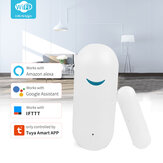 Original              Tuya Smart WiFi Door Sensor Window Sensor Door Open/Closed Detectors Wifi Home Alarm Compatible With Alexa Google Home Tuya APP