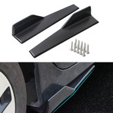45cm Car Black Side Skirts Rocker Spiltters Winglet Wings Dekorationer til BMW E90 E91 E92 E93 E46 F80 30 F31 F32