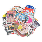 100 stks Cartoon Auto Sticker Combinatie voor Auto Truck Voertuig Motorfiets Decal