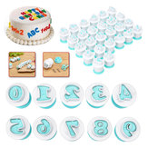 Alfabet Letter Nummer Fondant Cake Cutter Koekjesvorm Sugar Craft Decorations