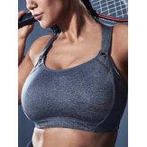 Soutien-gorge de sport professionnel pour femmes antichoc Yoga sans fil avec attache réglable