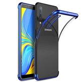 BakeeyPlatingSoftTPUbeschermhoesvoor Samsung Galaxy A7 2018