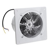 110/220V 60W 2800r/min 8inch Exhaust Fan Wall Mounted Blower Bathroom Kitchen Air Vent Ventilation Extractor