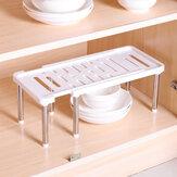 Adjustable Removable Under Sink Storage Tidy Shelf Kitchen Rack Organiser