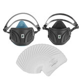 Anti Dust Face Mask PM2.5 Anti Fog Haze Dust Electrostatic Respirator