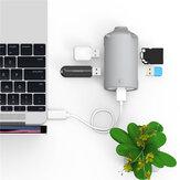 ORICO Lettore di schede SD TF per adattatore HUB ad alta velocità USB 3.0 per Macbook Laptop