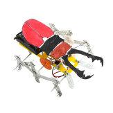 Çocuklar için DIY Beetle Robot Eğitim Elektrikli Bilimsel Deney Oyuncaklar