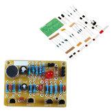 3 pcs diy eletrônico aplauso interruptor de controle de voz módulo kit de formação de indução diy kit de produção