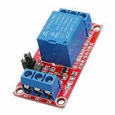 5Pcs 24V 1 Channel Level Trigger Optocoupler Relay Module Geekcreit for Arduino - products that work with official Arduino boards