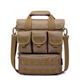 Men Tactical Bag Camo Military Shoulder Bag Outdoor Casual Handbag Hiking Sport Bag