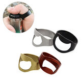 Aotu 24mm Outdoor EDC Mini Finger Ring Beer Opener Bottiglia in acciaio inossidabile Apriscatole Anello Kit attrezzi