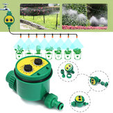 Garden Irrigation Controller Two Dial Electronic Water Timer Home Plant Flower