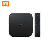 Xiaomi Mi Box S 2GB DDR3 8GB 4K Ultra HD HDR Android 9.0 5G WIFI bluetooth 4.2 TV Box Streaming Media Player ze sterowaniem głosowym Global Version