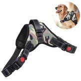 Gilet tattico per cane da caccia regolabile Nylon Impermeabile Pet Puppy Harness Collar Training Traction Rope