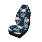 Universal Front Car / Van Seat Cover Butterfly Octopus Skull Protector Cushion