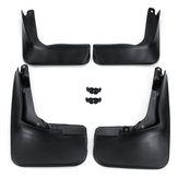 4Pcs Front Rear Car Mudguards Splash For Ford Fusion Molded 2014 Mondeo 2013