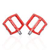 ZTTO JT04 alliage d'aluminium haute résistance durable anti-dérapant roulement Perlin 1 paire de pédales de vélo VTT pédales accessoires de vélo