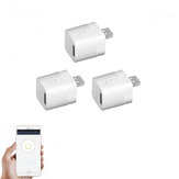 3Pcs SONOFF® Micro 5V Adaptador USB Smart Wireless WiFi Mini USB Power Adapter Switch APP Controle Remoto Botão de controle de voz para casa inteligente funciona com Alexa Google Home