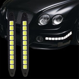 12V COB 10LED Car Daytime Running Lights Side Marker Reversing Parking Lamp