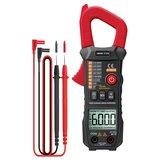 ANENG ST208 Digital True RMS 6000 Anzahl Wechselstromklemme Automatische Voltimetro Multimeterklemme Tester Meter Elektriker Werkzeug Rot